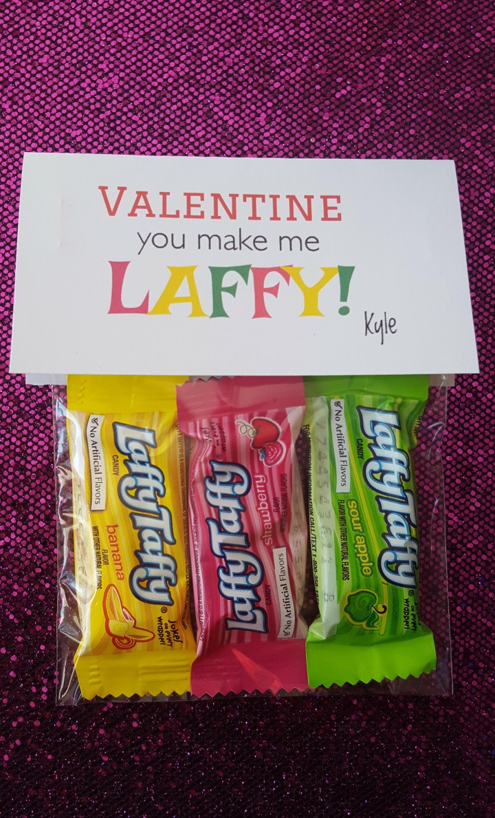 You make me LAFFY!